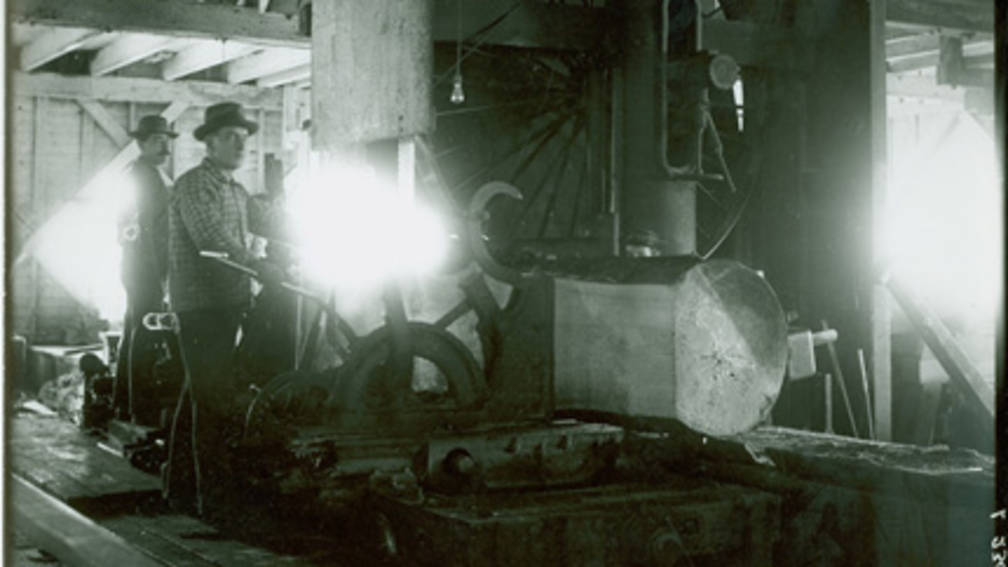 Men working in factory