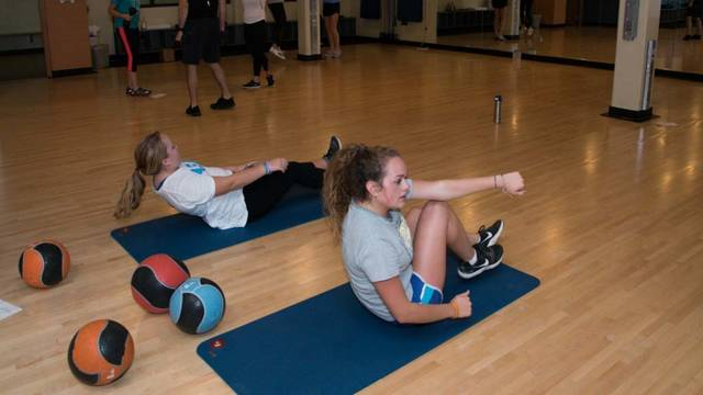 Group Exercise Class at McPhee