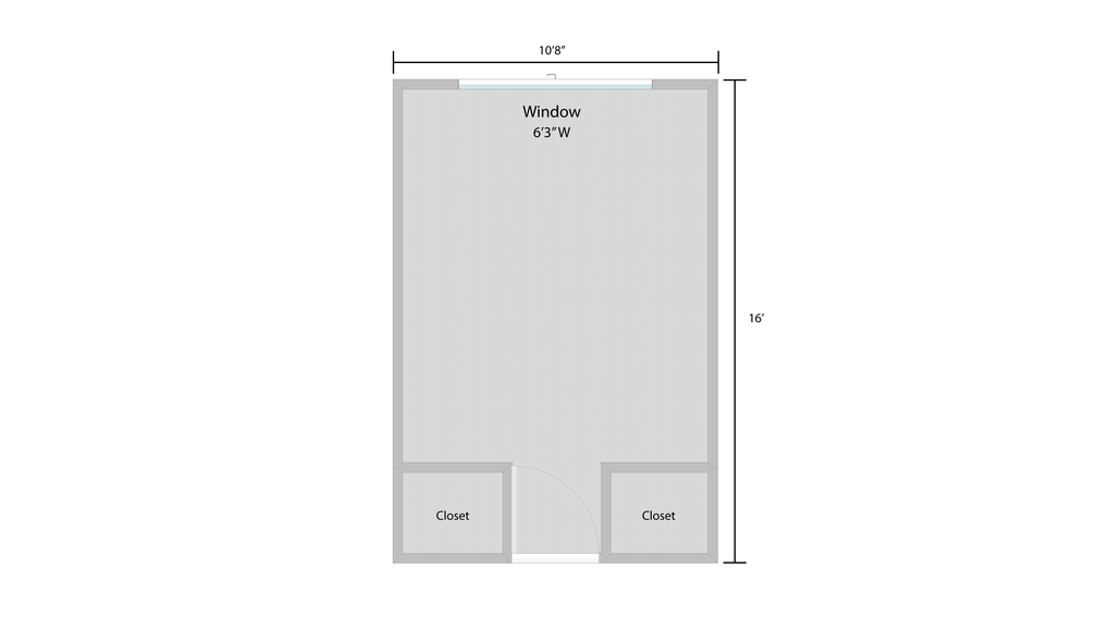 Oak Ridge Room Layout
