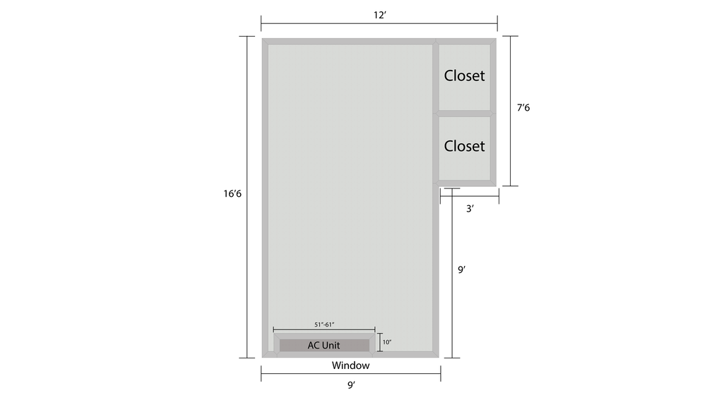 Towers Room Layout