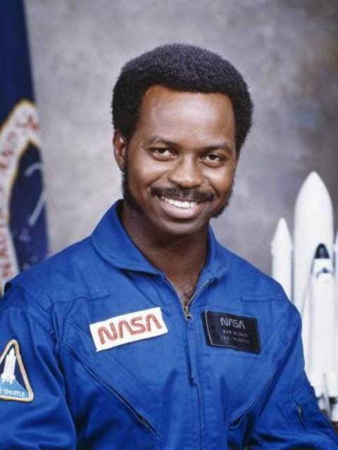 Ronald E. McNair, headshot in NASA uniform