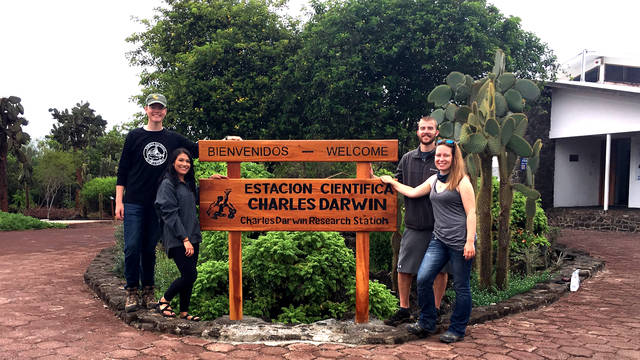 Students from UW-Eau Claire in Ecuador, International Fellows program