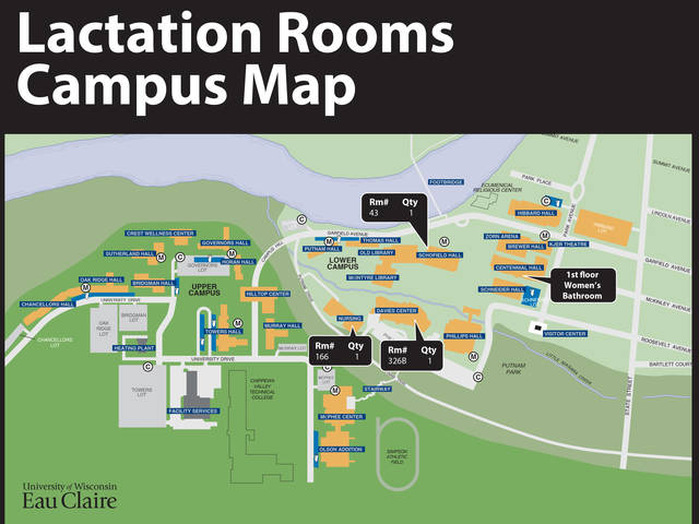 Lactation Spaces Map