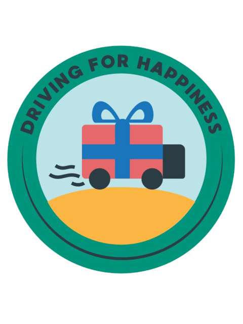 Driving for Happiness logo