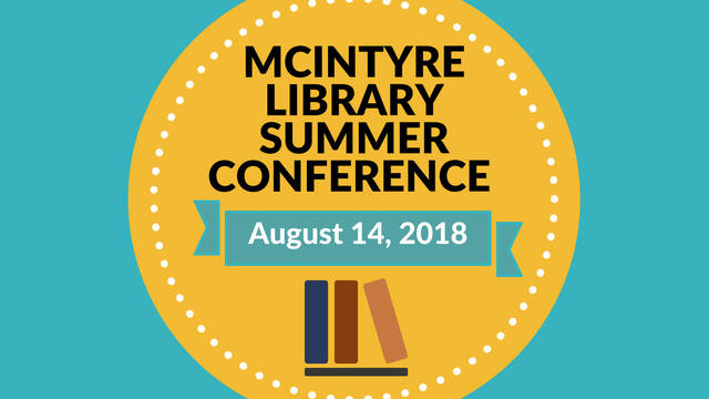 McIntyre Summer Conference Save the Date August 14
