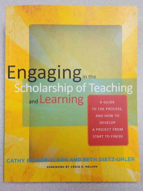 Engaging in the Scholarship of Teaching and Learning Book Cover