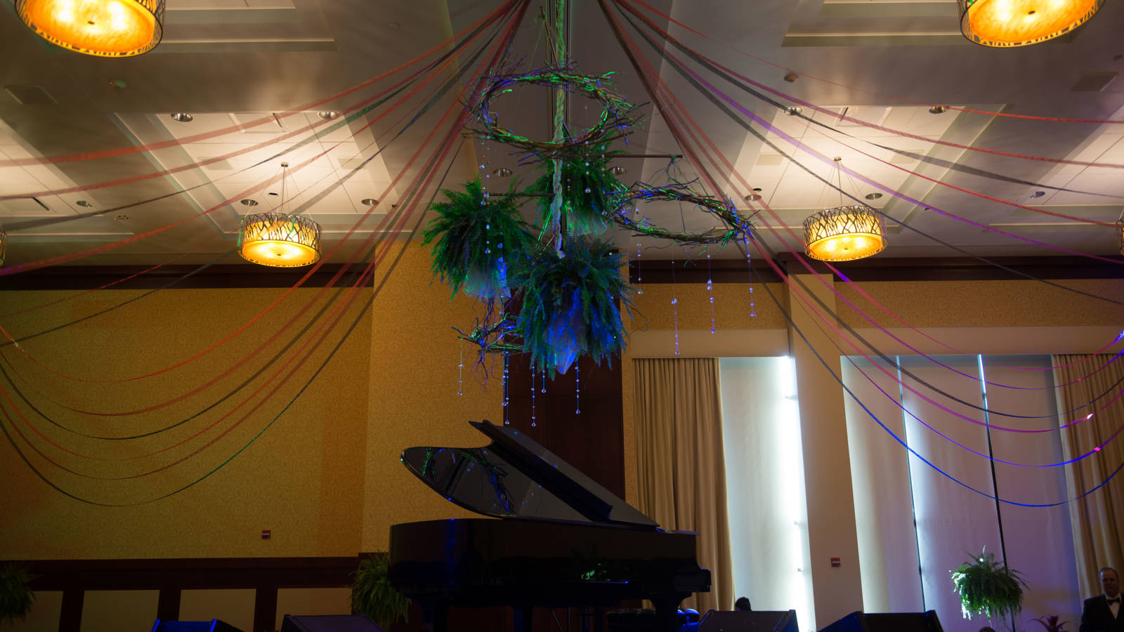 Decorations at the Viennese Ball at UW-Eau Claire 2015