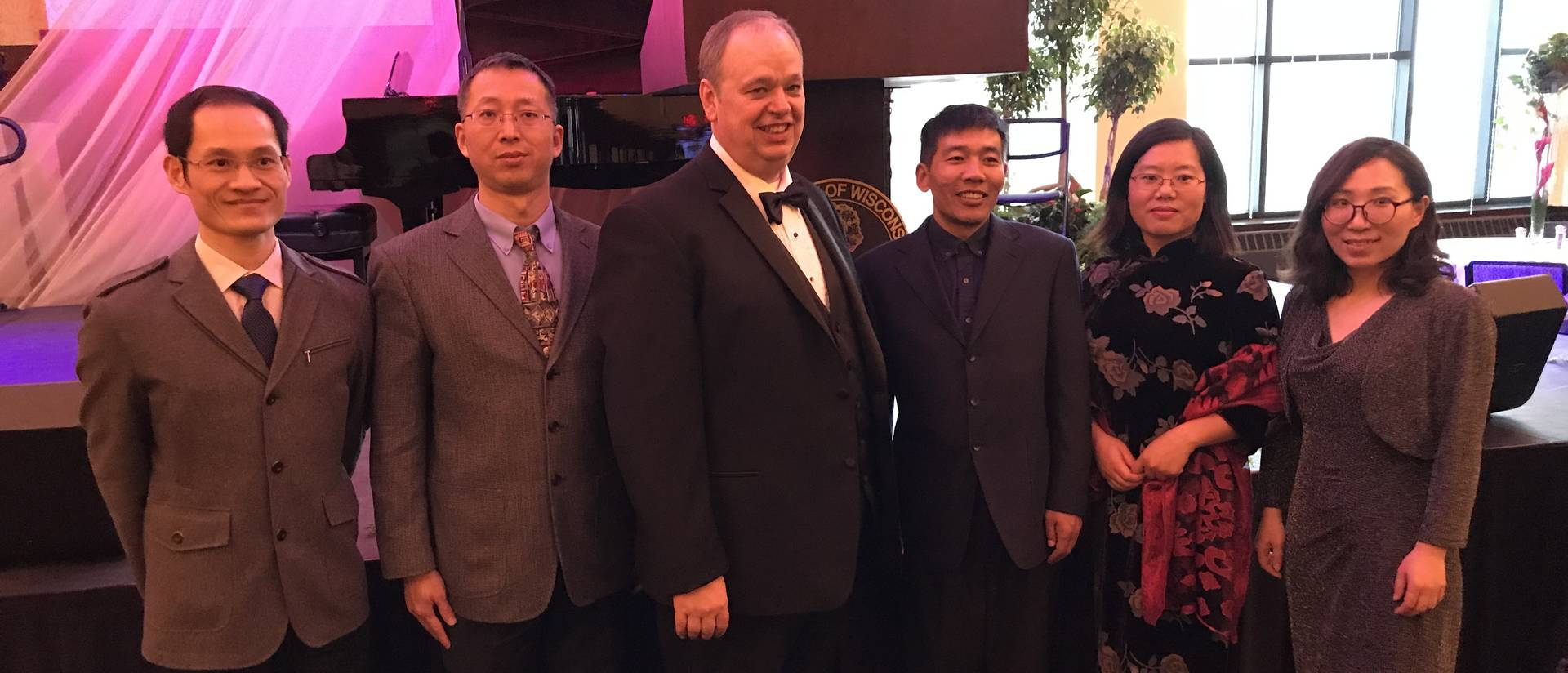 Visiting International Scholars with the Chancellor at the 2018 Viennese Ball