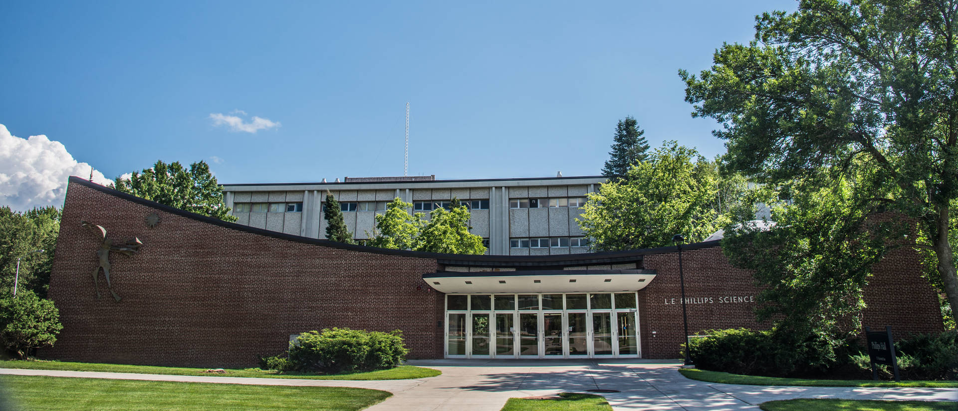 Phillips Science Hall at UW-Eau Claire