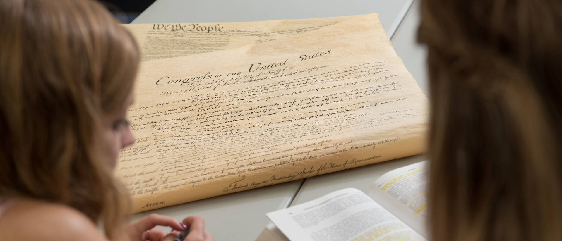 UW-Eau Claire students discuss U.S. Constitution