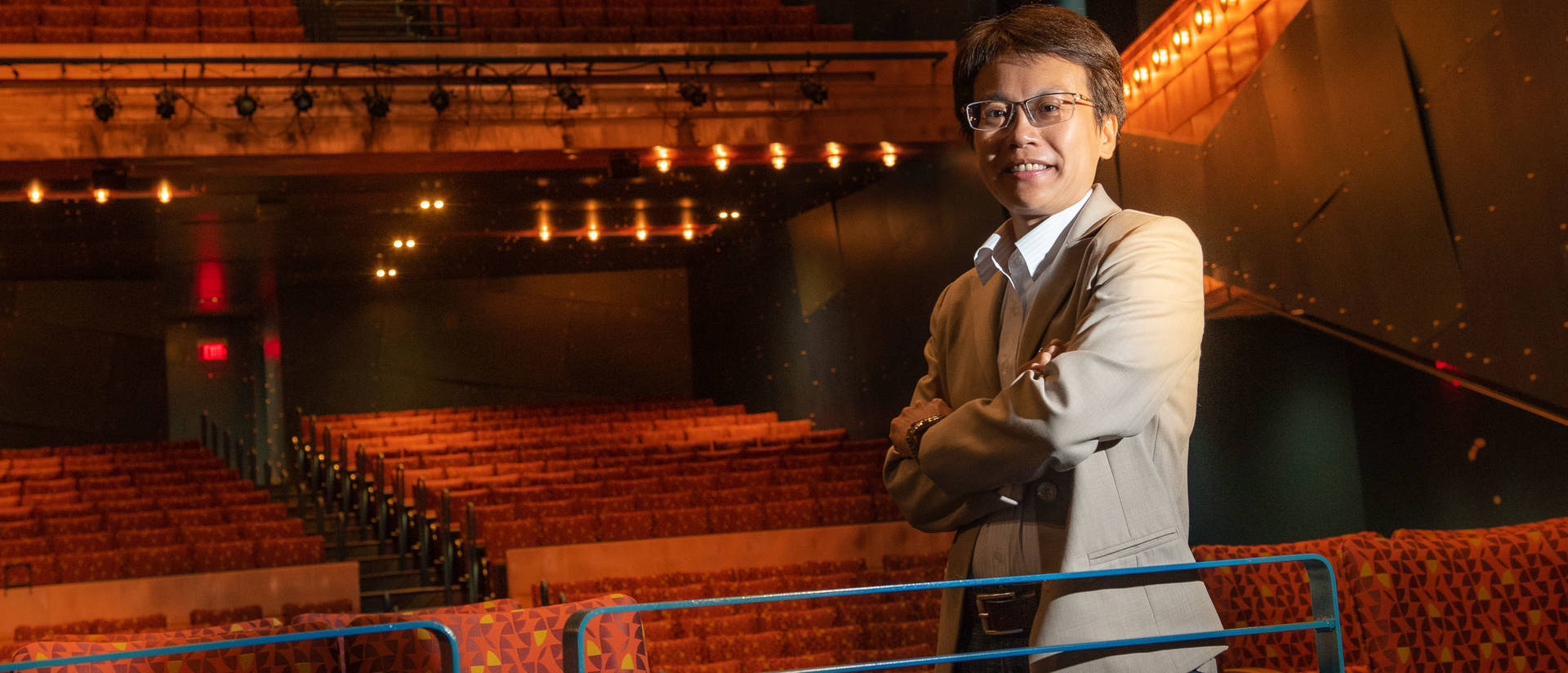 Dr. Chia-Yu Hsu will premiere two compositions during the grand opening of Pablo Center at the Confluence.