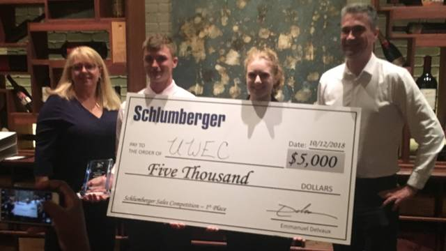 2018  Schlumberger award winners
