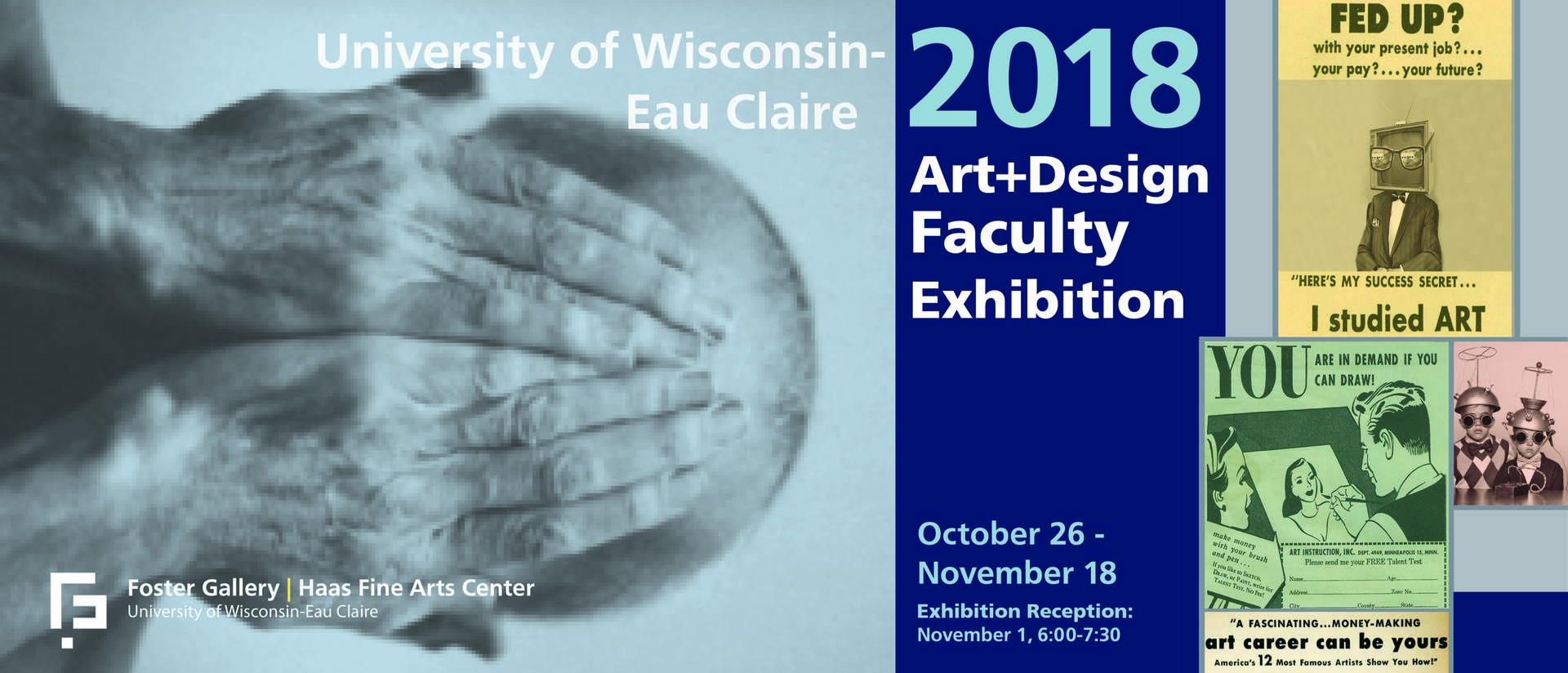 Faculty exhibition banner