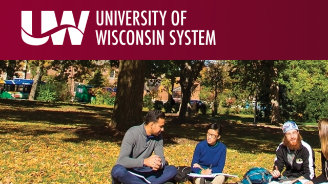 UW system application page