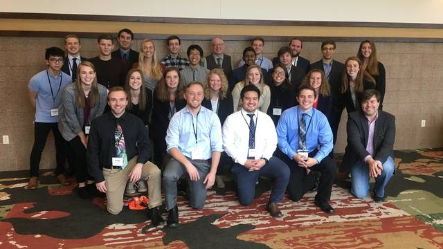 Students attended the annual Wisconsin Economics Association Conference