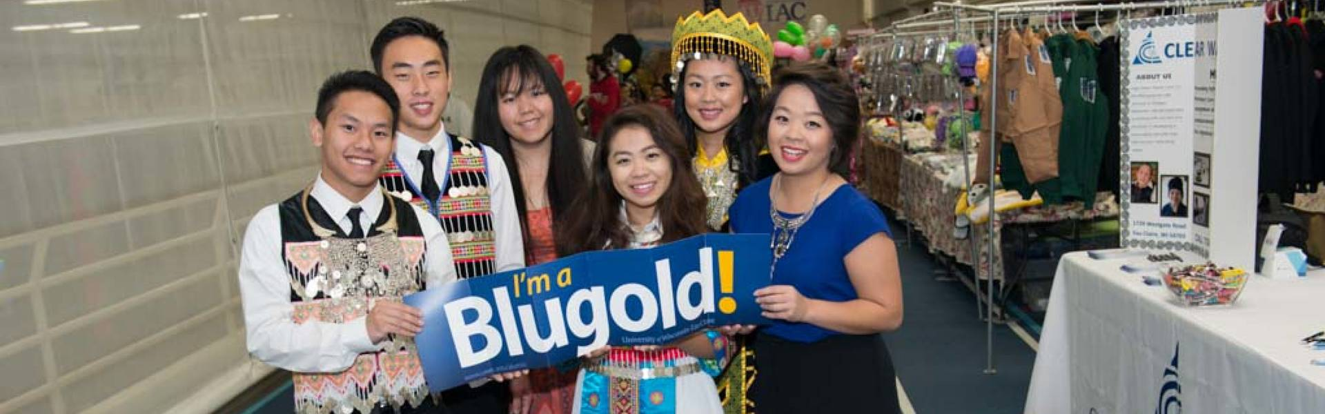 UW-Eau Claire students celebrate Hmong New Years.