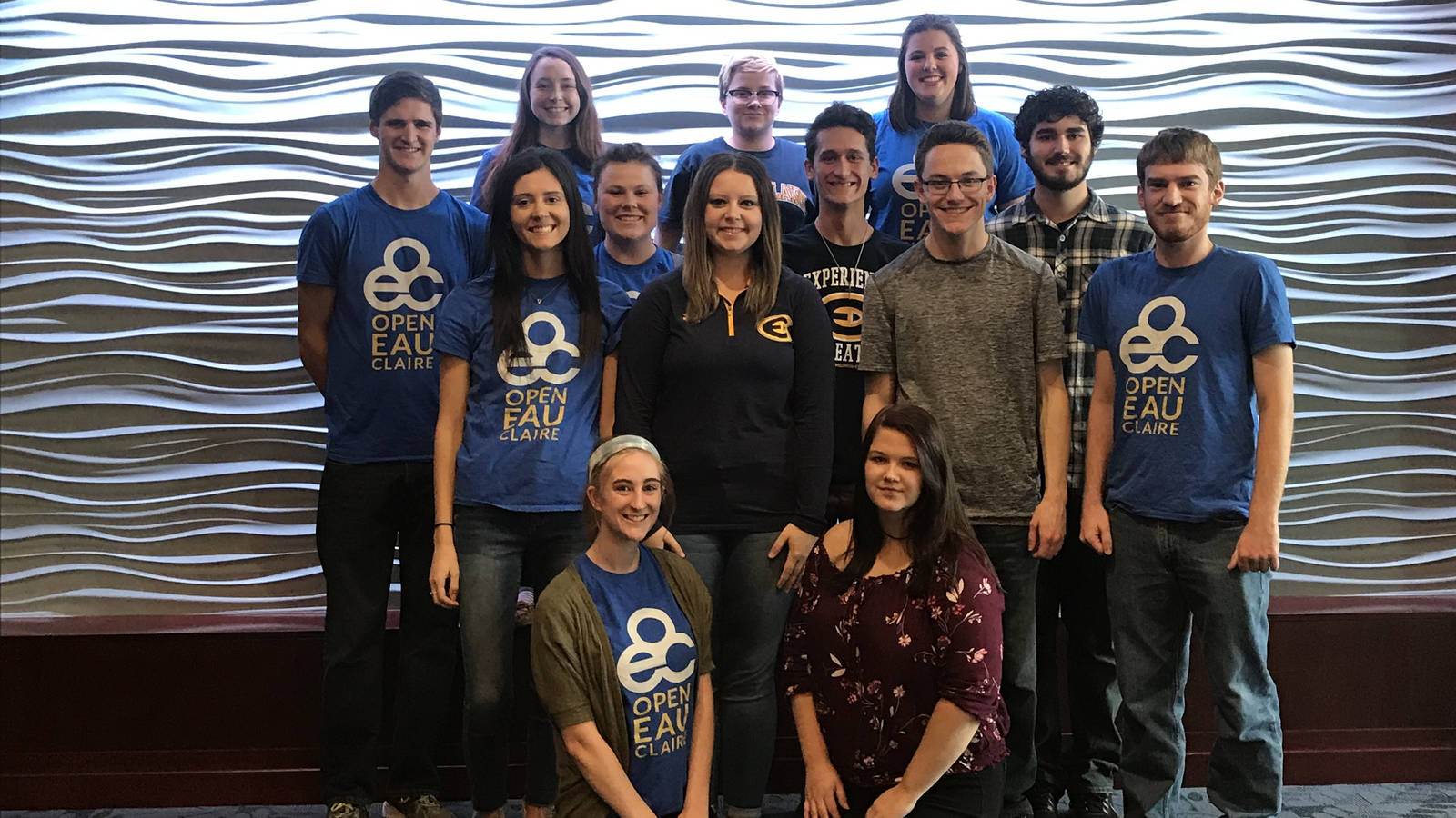 Picture of the Open Eau Claire team.
