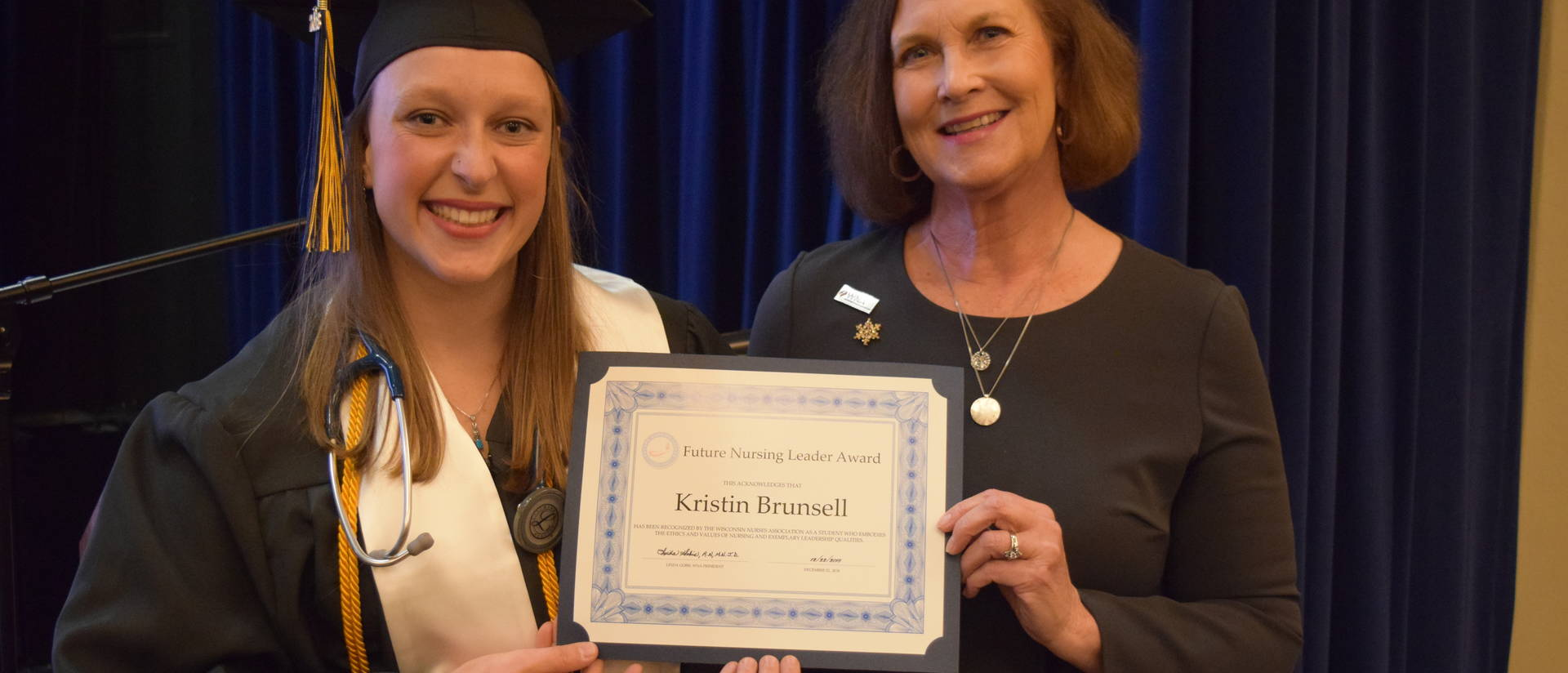 Kristin Brunsell wins leadership award