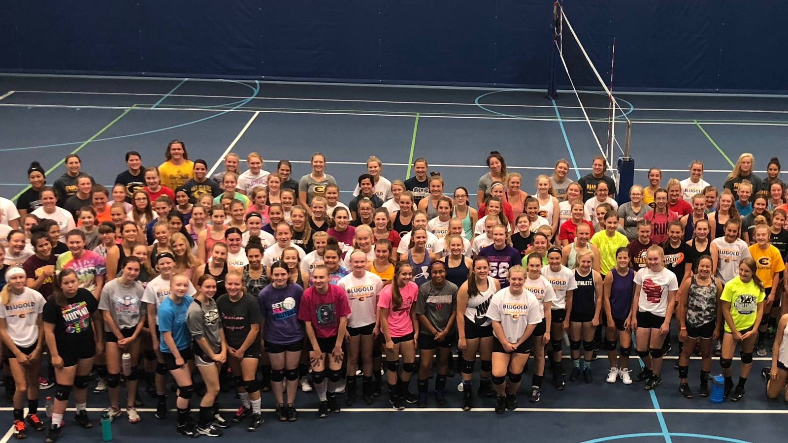 Girls Volleyball Camps Clinics