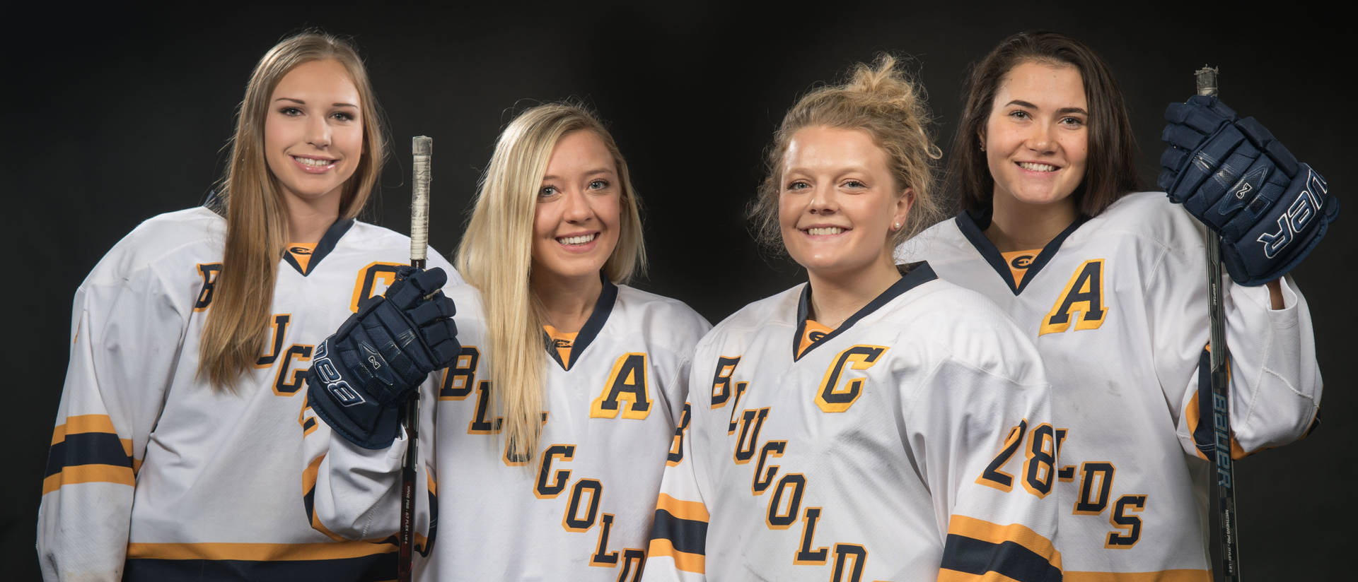 Blugold women's hockey team captains