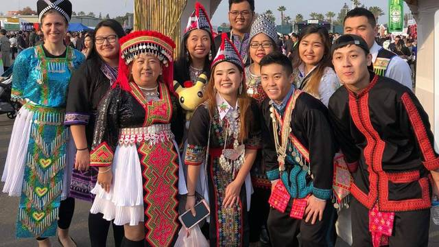 Blugold faculty and students were immersed in Hmong culture and language during a recent immersion in California, which included participating in the Hmong New Year celebration in Fresno.
