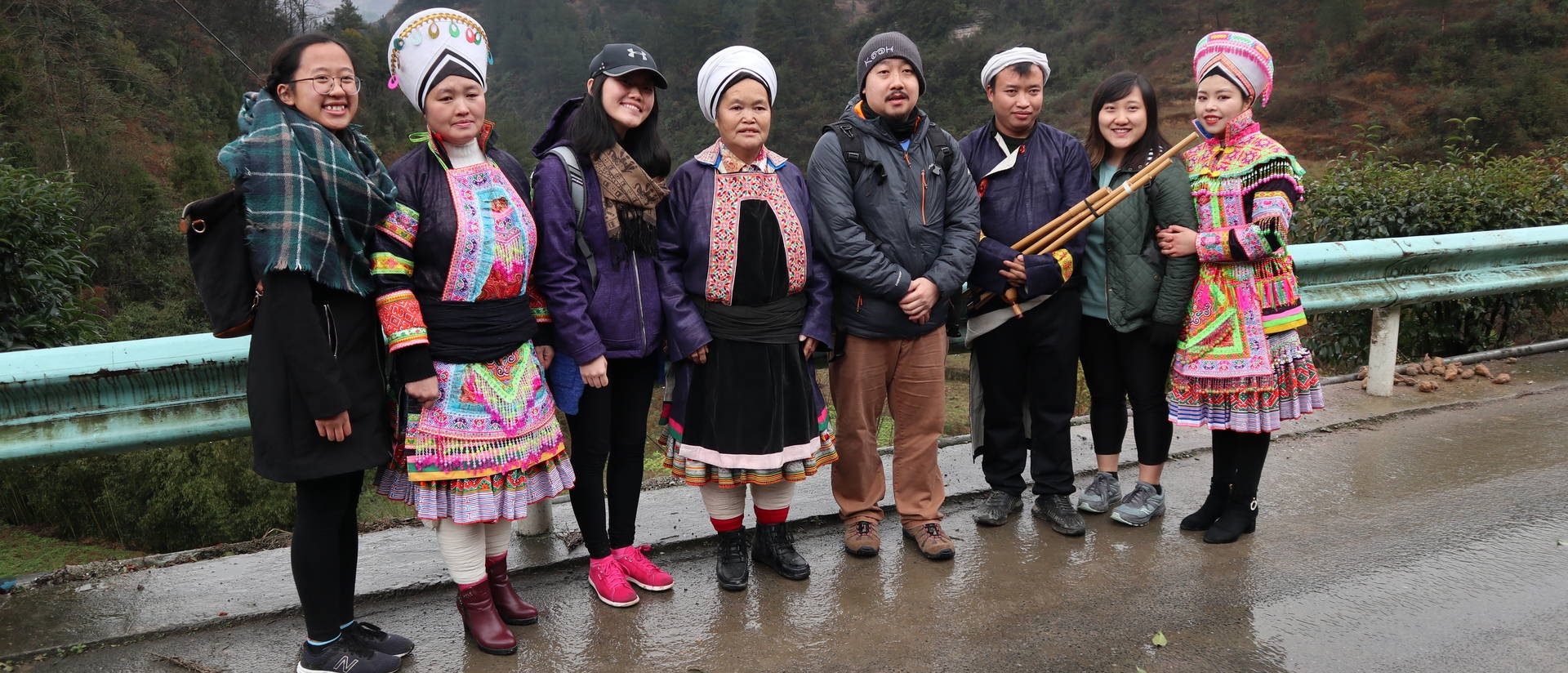 Blugolds spent time exploring small villages in the southern part of China during Winterim, immersing themselves in Hmong and other ethnic cultures.