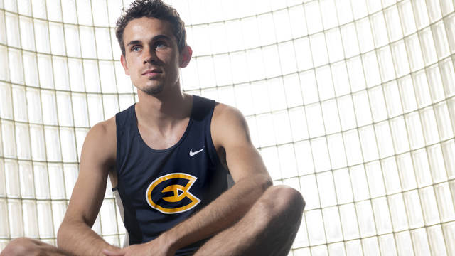 Blugold Kyler Lueck is a national champion in track as well as a mental health advocate.