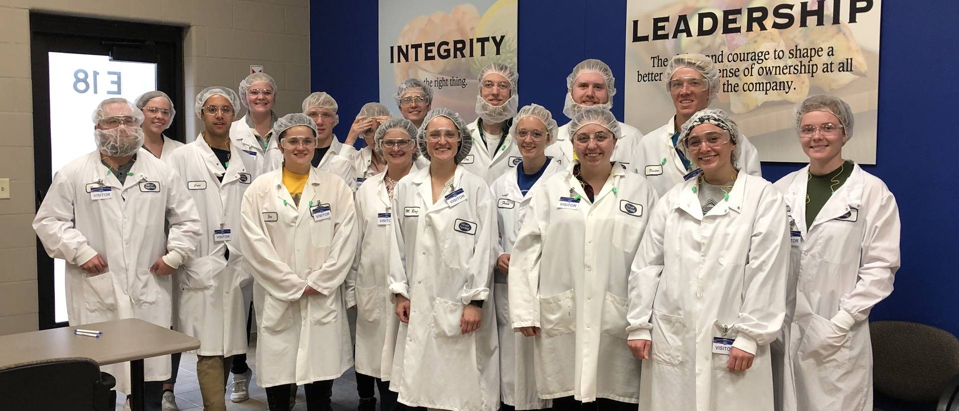Students visit Silver Spring Foods