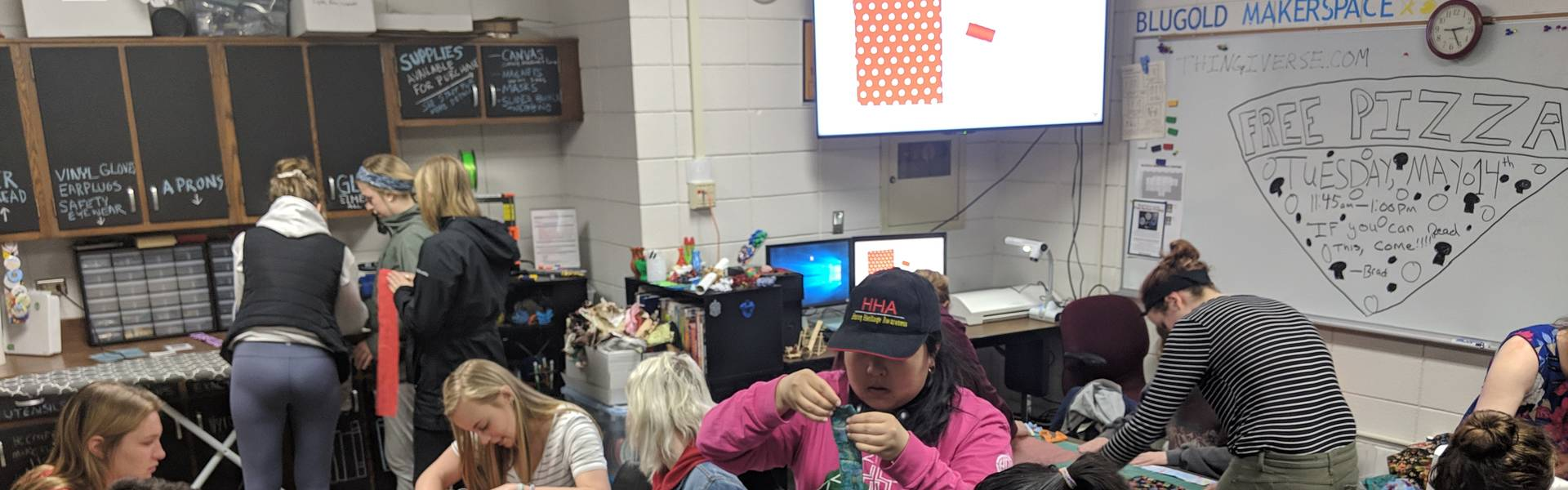 Blugold Makerspace Scrunchie Workshop
