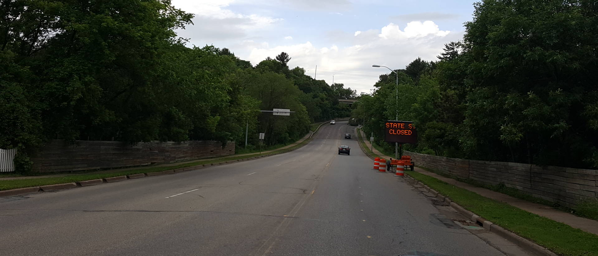 State Street hill near UW-Eau Claire campus