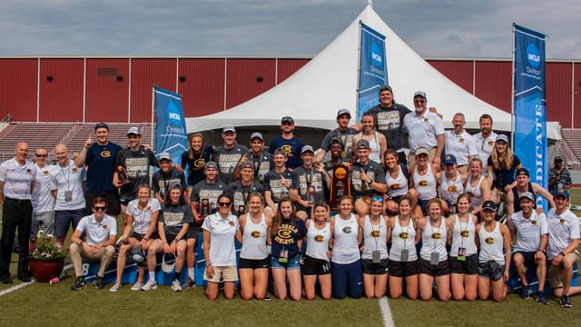 Blugold track and field team, nationals