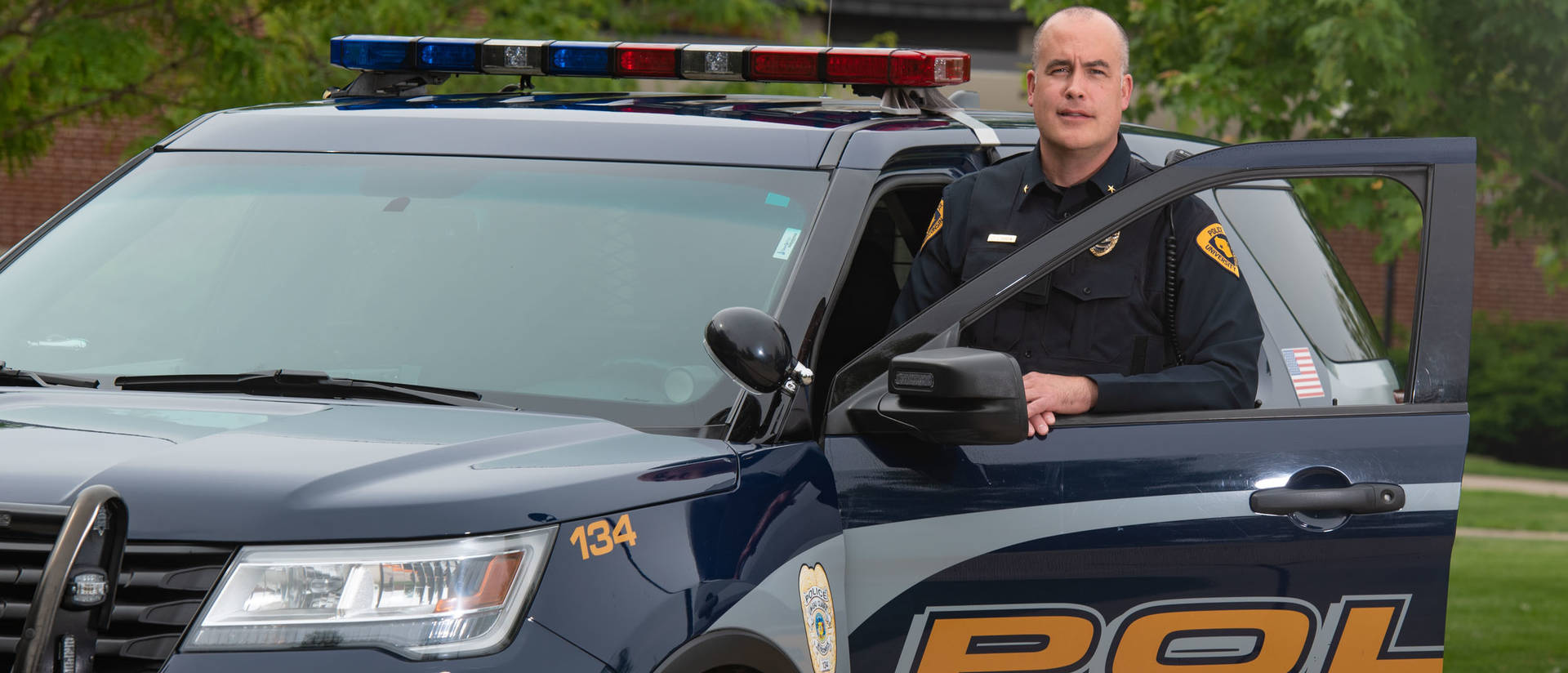 UW-Eau Claire police chief Jay Dobson