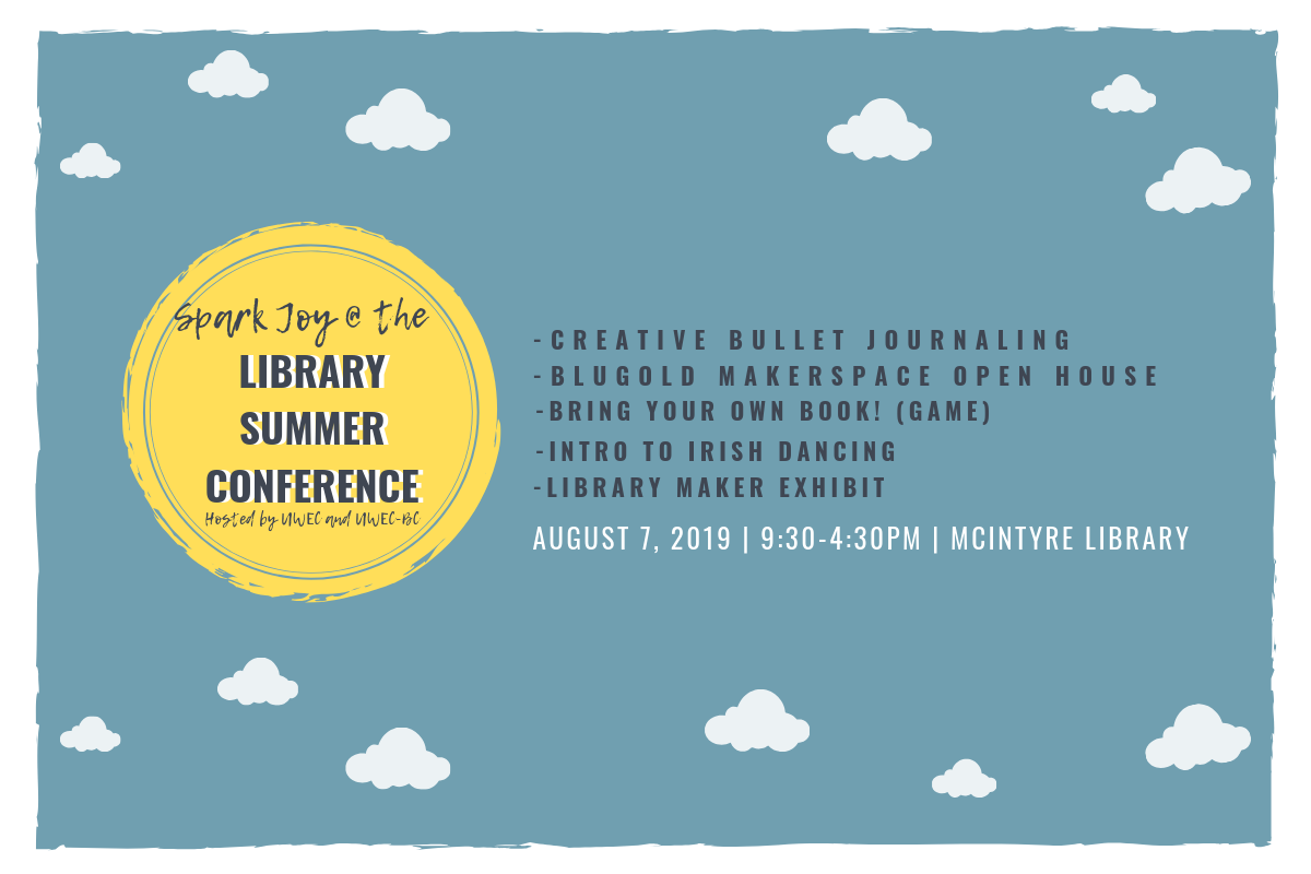 You're invited to the 2019 Library Summer Conference!