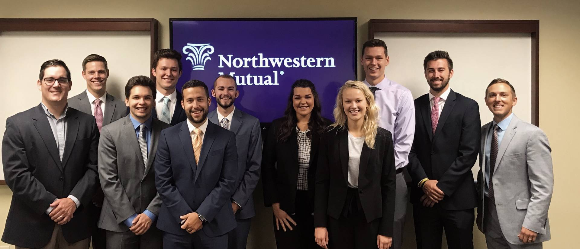 UW-Eau Claire Northwestern Mutual intern/grad team