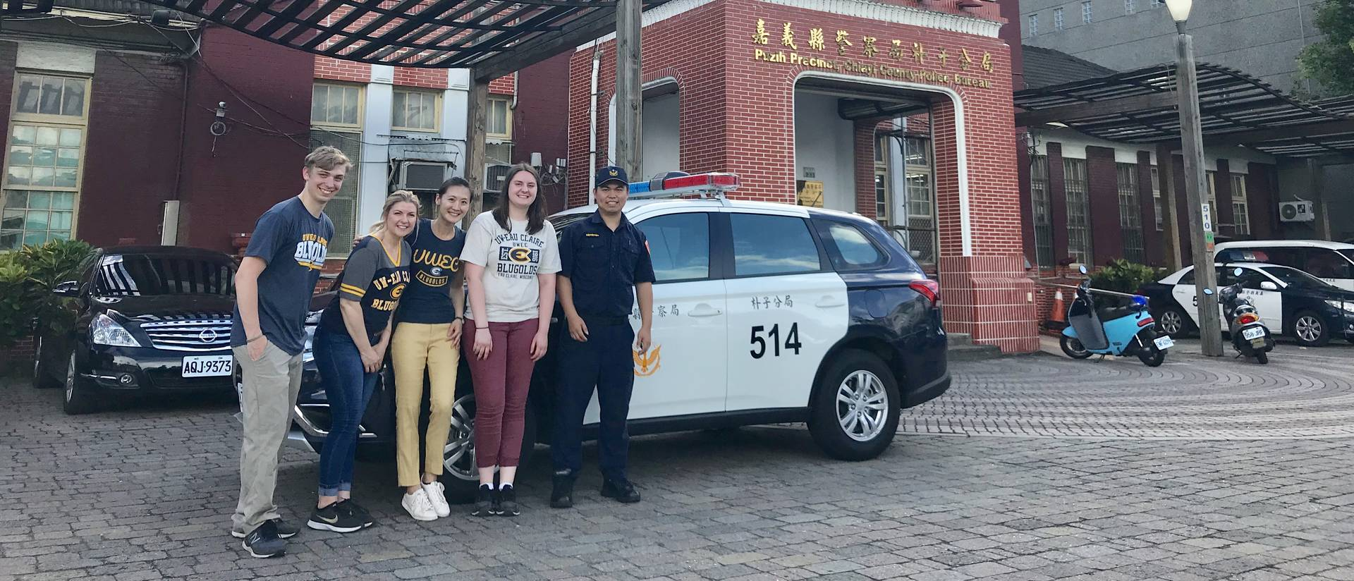 A team of UW-Eau Claire student researchers spent time this summer studying all aspects of the criminal justice system in Taiwan.