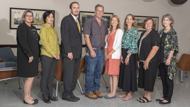 2019 UW-Eau Claire Excellence Award-winners