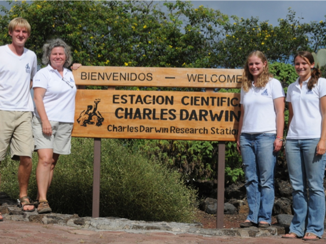 Nearly 10 years ago, Adam Schneider was among the first group of Blugolds to intern in the Galapagos Islands.