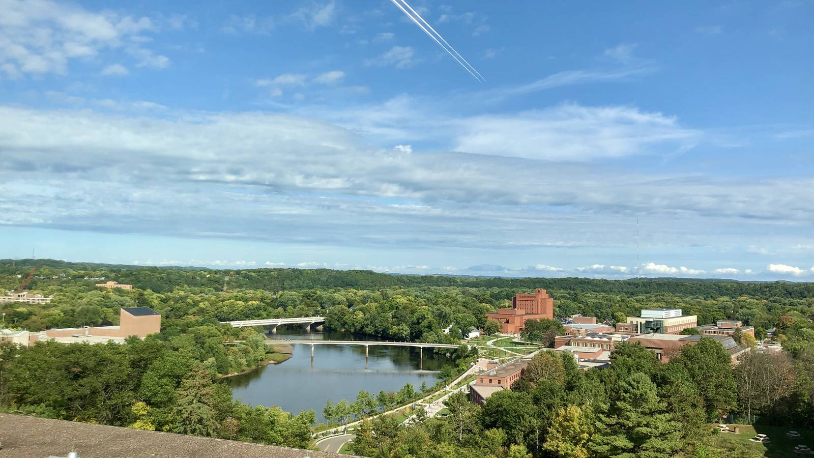 The Suites | beautiful views of campus and Eau Claire