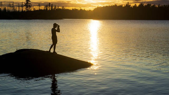The Boundary Waters Canoe Wilderness Area in northern Minnesota is the most visited wilderness area in the United States.