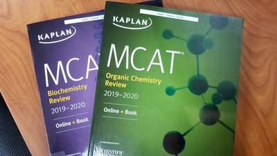 MCAT books