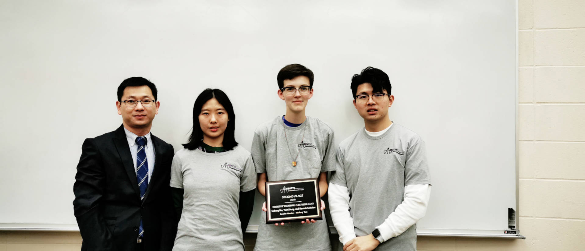 Smart Cities- Smart Futures competition team from UW-Eau Claire–Barron County