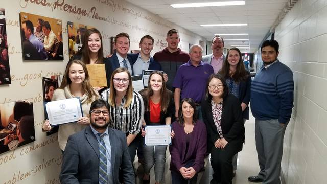 Marketing grads recognized for their accomplishments
