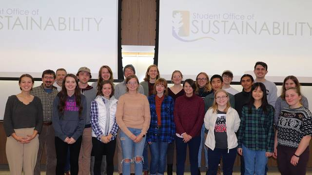 Student Office of Sustainability - Fall 2019 Commission