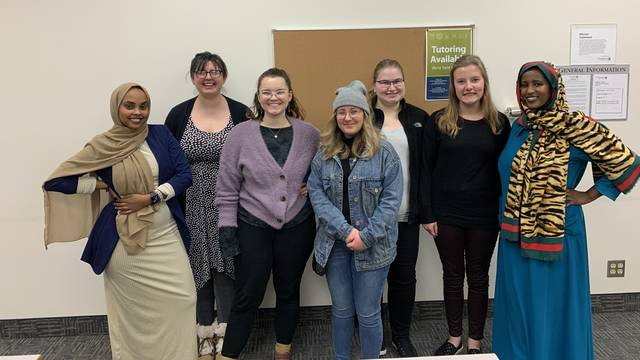Future teachers spent time immersed in the Twin Cities' Somali community, helping the Blugolds better understand a diverse population.