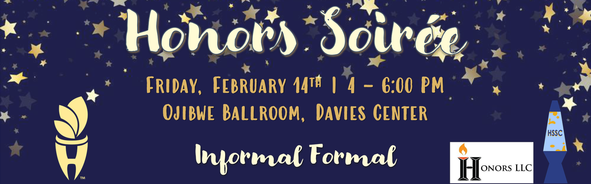 Honors Soiree event graphic