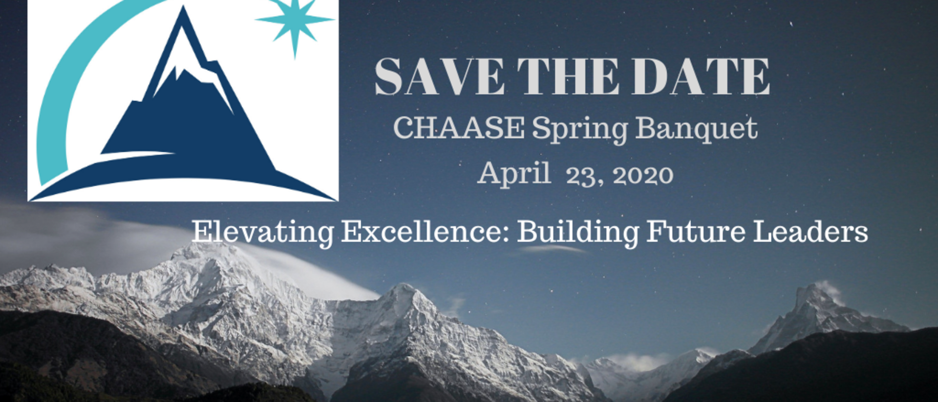 CHAASE Save the Date