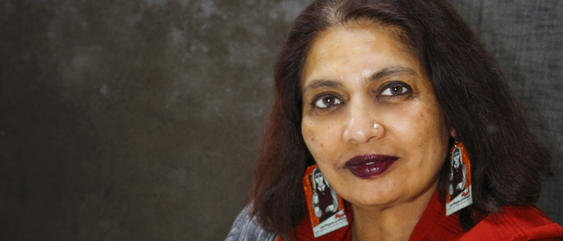 Dr. Chandra Talpade Mohanty. professor of women's and gender studies at Syracuse