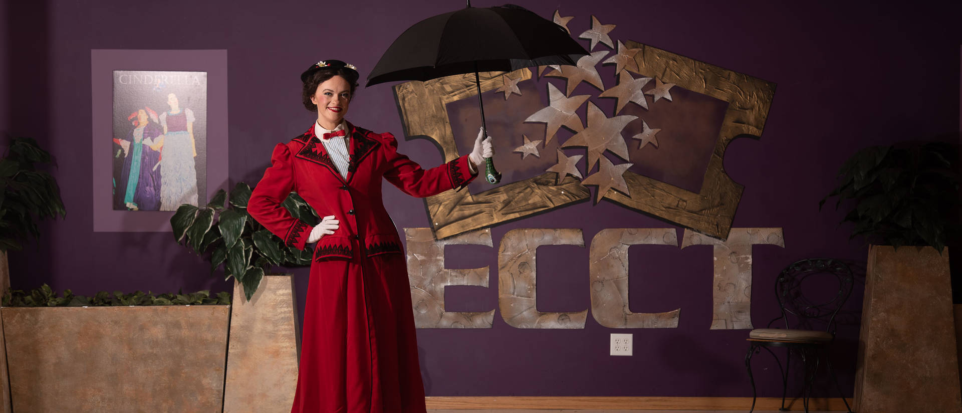Blugold Kathryn Flynn is playing Mary Poppins in a community production.