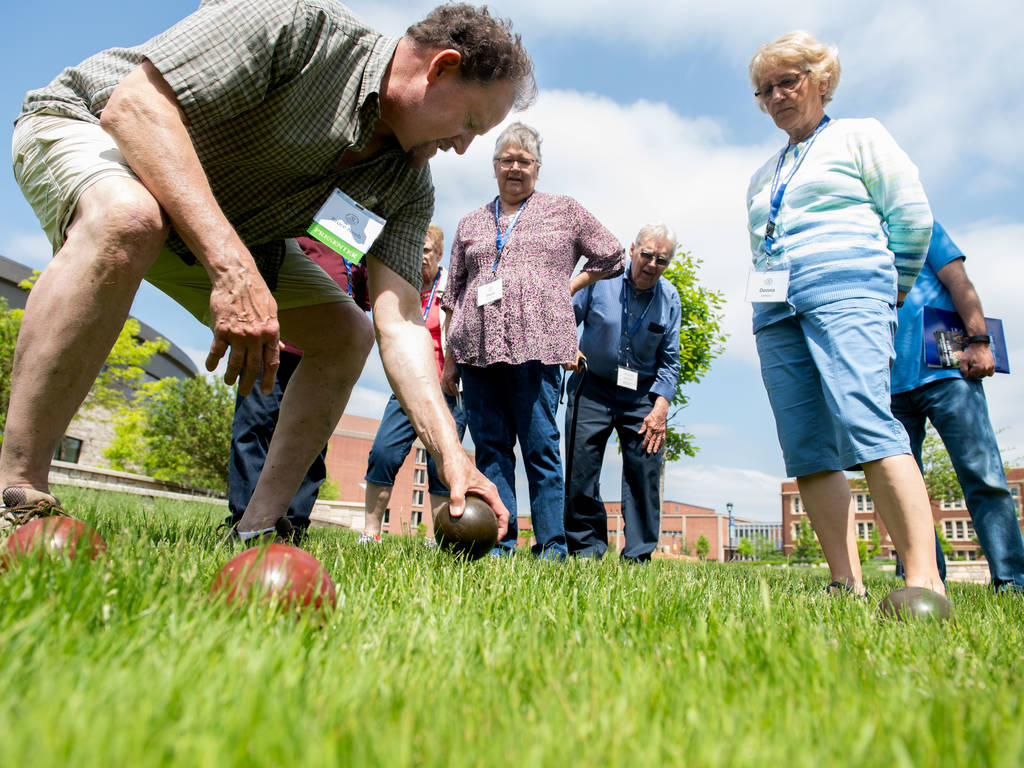 Senior Americans Day Bocce Ball