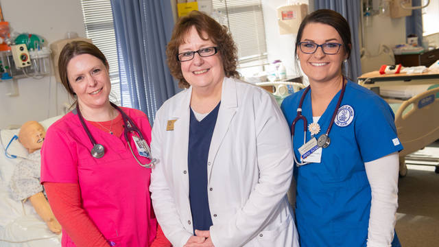 UW-Eau Claire nursing Marshfield site three generation legacy